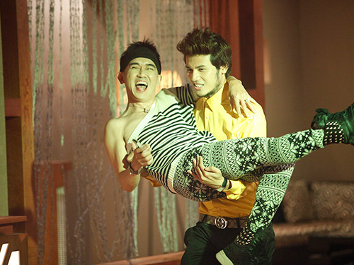 Minh Thuận trong tập 6 Bếp hát Ảnh: BHD