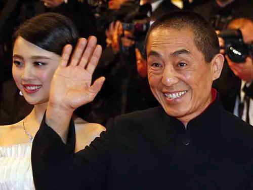 Đạo diễn Trương Nghệ Mưu tại buổi công chiếu phim Coming Home ở Bắc Kinh - Trung Quốc Nguồn: Reuters