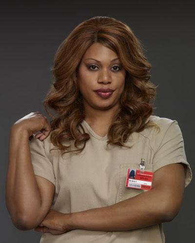 Diễn viên chuyển giới Laverne Cox trong phim Orange Is the New Black.  Nguồn: NetFlix