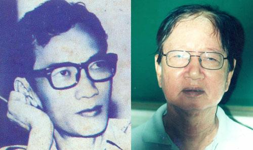Soạn giả Hà Triều (trái) và soạn giả Hoa Phượng