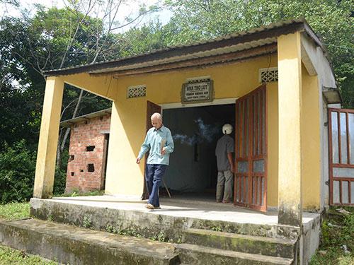 Nhà thờ lụt làng Đông An là nơi thờ cúng chung 1.481 người đã chết trong lụt năm Thìn