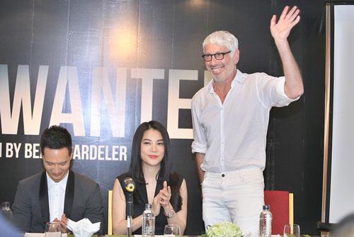 Trong khuôn khổ Liên hoan Phim Hà Nội, đoàn làm phim I am wanted đã ra mắt hôm 25-11 Ảnh: HẢI BÁ