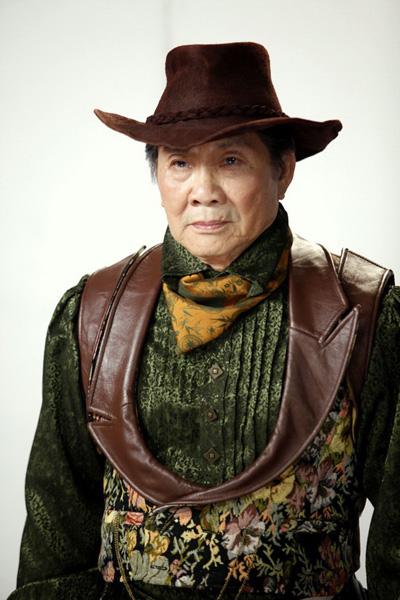Nghệ sĩ Xuân Phát trong phim Lửa phật (Ảnh nhân vật cung cấp)