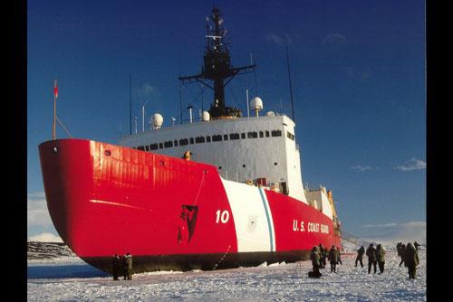 Tàu phá băng Polar Star của Mỹ Ảnh: ADN