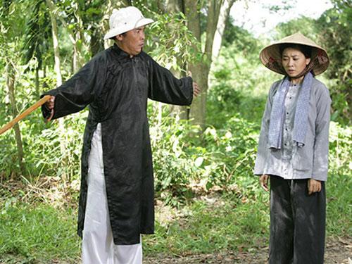 Cảnh trong phim Ngọn cỏ gió đùa, một trong những bộ phim có giá trị nghệ thuật của Hãng phim truyền hình TPHCM (TFS) nhưng không được chiếu giờ vàng nên rating không cao (Ảnh do đoàn phim cung cấp)