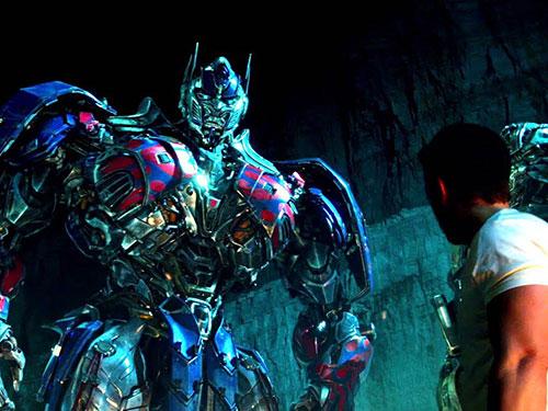 Phim Transformers: Kỷ nguyên hủy diệt Ảnh: REUTERS