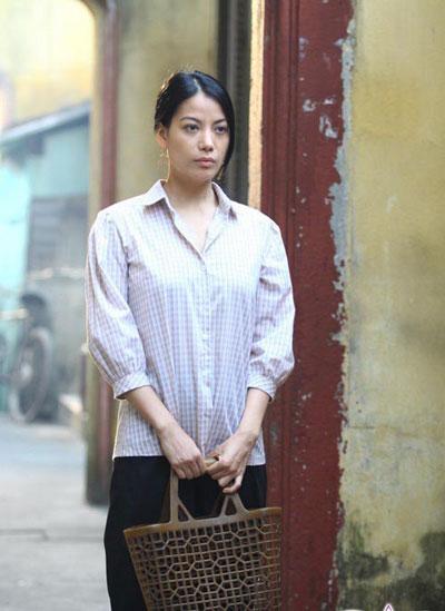 Trương Ngọc Ánh trong phim Hương Ga. (Ảnh do đoàn làm phim cung cấp)