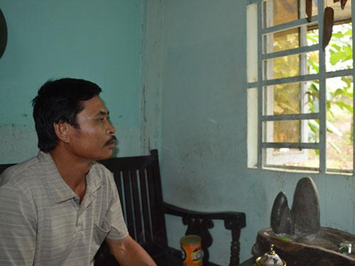 Ông Lê Văn Hiệu thấy buồn vì bị mang tiếng oan