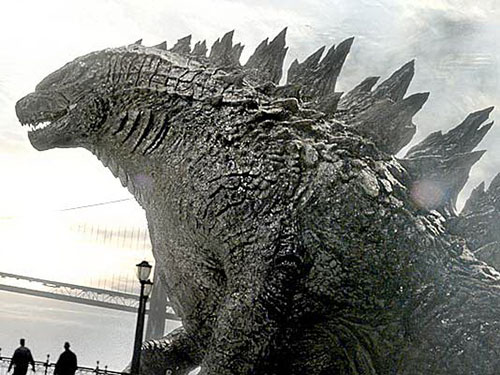 Quái vật Godzilla trong phiên bản 2014 của đạo diễn Gareth Edwards. Nguồn: Legendary Pictures