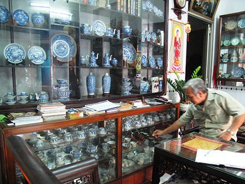 Kho cổ vật tư nhân của ông Đoàn Phước Thuận tại tỉnh Phú YênẢnh: HỒNG ÁNH