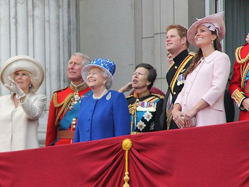 Quỹ dự trữ của hoàng gia Anh đang xuống mức thấp kỷ lục Ảnh: Wikimedia