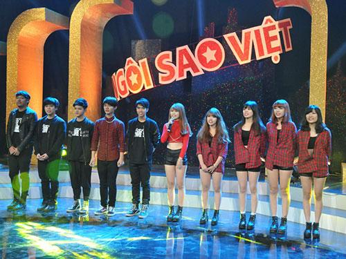Mới tổ chức sản xuất mùa đầu nhưng chương trình thi hát Ngôi sao Việt trên sóng VTV3 không thu hút công chúng như mong đợi Ảnh: Ngô Bá Lục