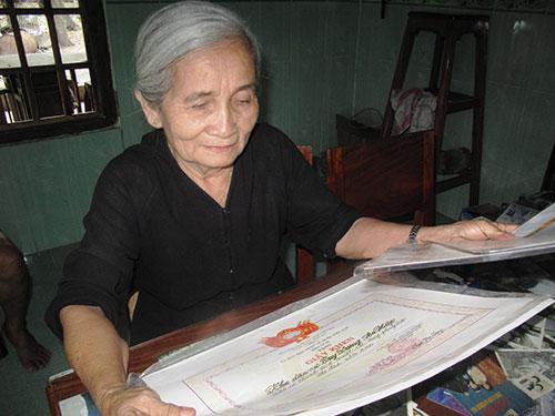 Nữ lão tướng miền sơn cước Nguyễn Thị Lưu