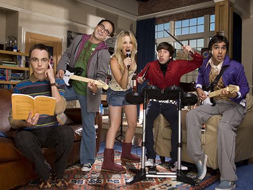 Một cảnh trong The Bigbang Theory - 1 trong 4 phim truyền hình Mỹ vừa bị cấm chiếu trên mạng internet tại Trung Quốc Nguồn: CBS