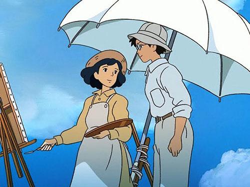 Cảnh trong phim Kaze Tachinu - tác phẩm được đề cử Oscar 2014 hạng mục Phim hoạt hình hay nhất của đạo diễn Hayao Miyazaki Nguồn: Toho