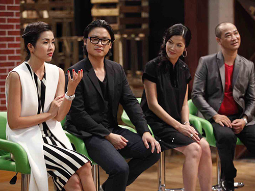 Ban giám khảo tại vòng Audition (Ảnh do VTV3 cung cấp)
