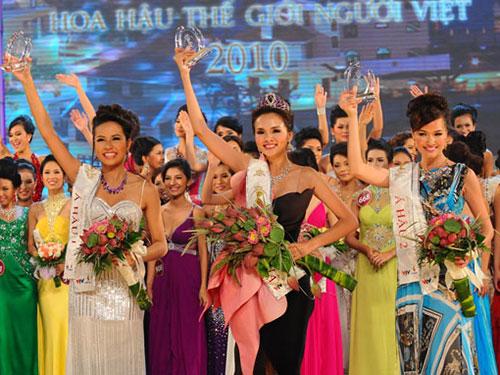 Hoa hậu Thế giới người Việt 2010 có thể sẽ bị tước vương miện vì hành vi gian dối của mình Nguồn: TƯ LIỆU