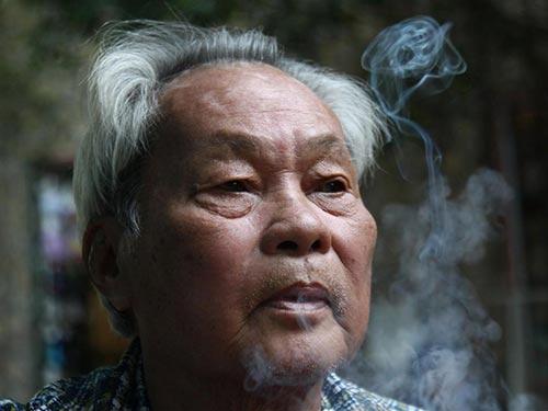 Nhà văn Nguyễn Quang Sáng Ảnh: NHẬT TUẤN