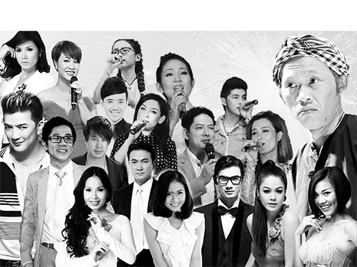 Ai trong số họ sẽ được vinh danh trong lễ trao Giải Mai Vàng 2013?