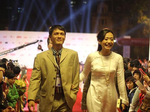 Đông đảo nghệ sĩ trong và ngoài nước đến tham dự lễ khai mạc Liên hoan Phim quốc tế Hà Nội lần 3 Ảnh: NGUYỄN NGỌC