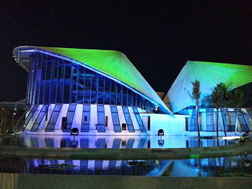 Nhà hát Nón lá tại tỉnh Bạc Liêu được công bố có kinh phí đầu tư trên 200 tỉ đồng Ảnh: VƯƠNG HOÀNG LÊ