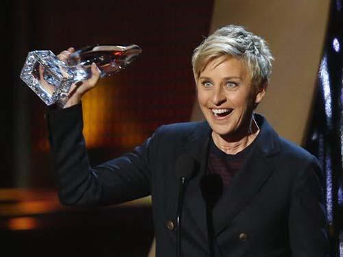 Ellen DeGeneres được kỳ vọng sẽ lôi kéo đông đảo công chúng Mỹ xem lễ trao giải Oscar 2014 vào ngày 2-3.Nguồn: Reuters