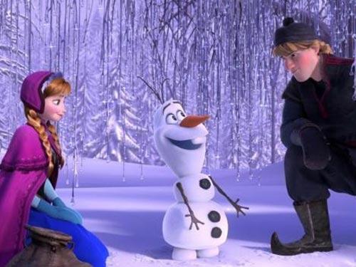 Một cảnh trong phim Frozen Nguồn: AP