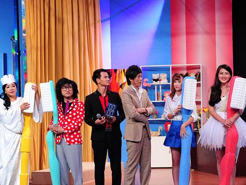 Cảnh trong chương trình Ơn giời, cậu đây rồi!. (Ảnh do chương trình cung cấp)