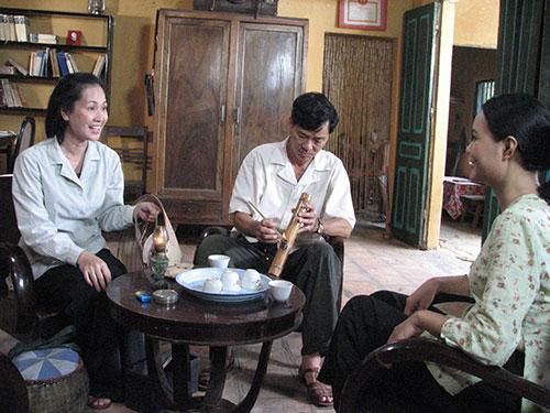 NSND Lan Hương trong phim Bí thư tỉnh uỷ Ảnh: Hoàng Dương