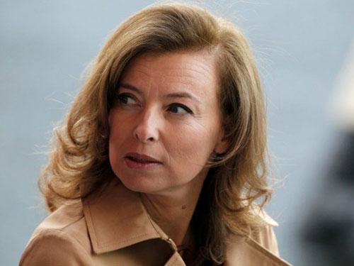 Bà Valérie Trierweiler Ảnh Reuters