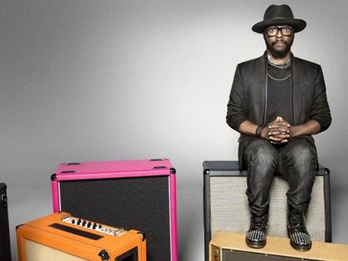 Rapper Will.i.am của nhóm Black Eyed Peas Nguồn: BBC