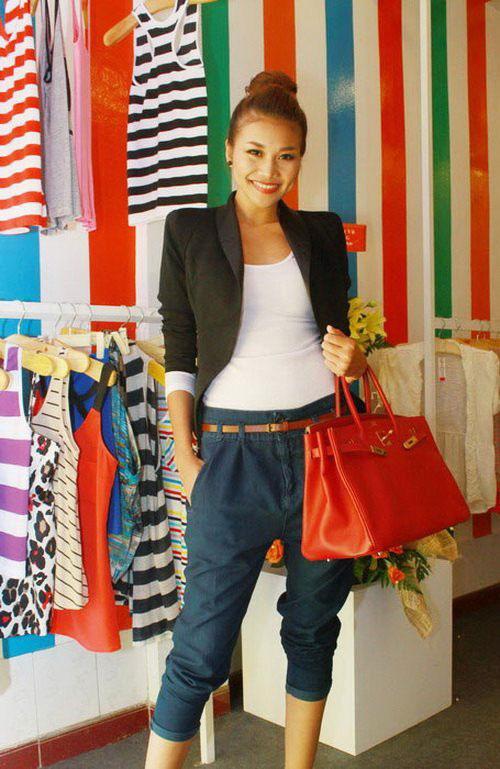 Thanh Hằng là một trong nhiều mỹ nhân giàu có của giới showbiz