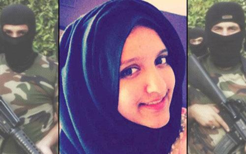 Aqsa Mahmood, một trong những thủ lĩnh lực lượng cảnh sát đặc biệt toàn nữ giới của IS Ảnh: DAILY BEAST