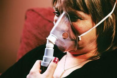 Béo phì làm tăng 72% nguy cơ COPD Ảnh: Healthoxygen.com