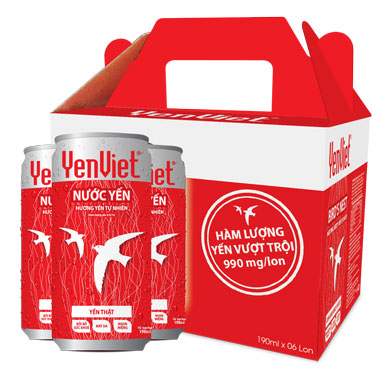 Nước yến YenViet - thức uống bổ dưỡng dành cho mọi người