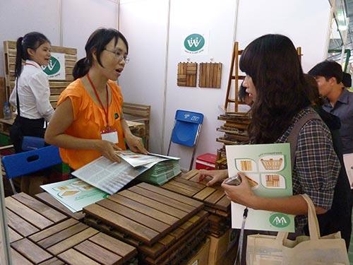 Doanh nghiệp gỗ có doanh số xuất khẩu tăng