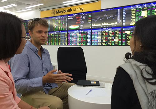 Thị trường chứng khoán tăng, các công ty chứng khoán thu nhiều lợi nhuận. (Ảnh chỉ có tính minh họa) Ảnh: Hồng Thúy