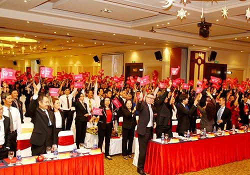 AIA Việt Nam không ngừng đầu tư xây dựng đội ngũ đại lý ngoại hạng
