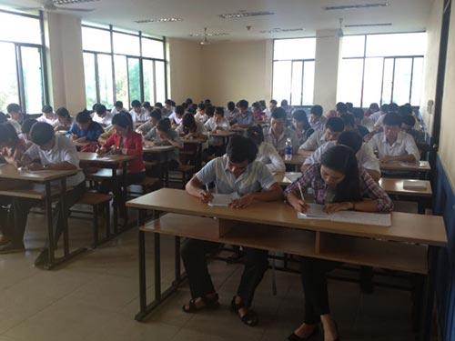 Lao động do Công ty Tracimexco tuyển chọn học ngoại ngữ trước khi sang Nhật Bản làm việc