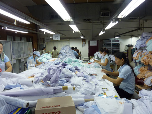 Doanh nghiệp dệt may tìm kiếm thêm thị trường mới