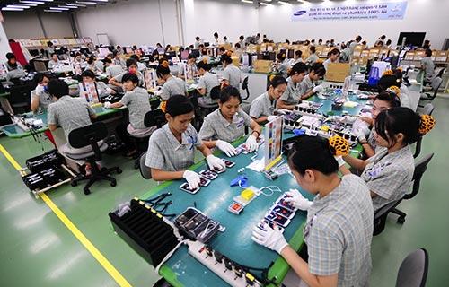Trong tương lai gần, tổng sản lượng sản xuất thiết bị di động tại Việt Nam sẽ chiếm khoảng 50% tổng sản lượng thiết bị di động của Samsung trên toàn cầu