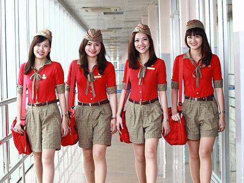 Những tiếp viên xinh đẹp của hãng hàng không VietJet