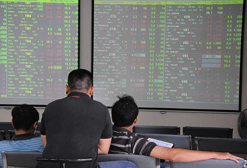 Nhà đầu tư thận trọng làm cho thị trường chứng khoán diễn biến khó lường Ảnh: Hồng Thúy