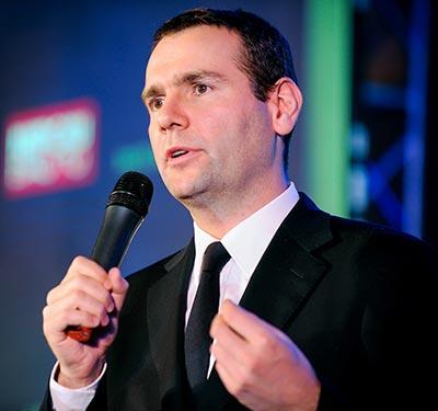 Ông Alex Ricard, Phó Tổng Giám đốc Pernod Ricard, phát biểu tại buổi lễ