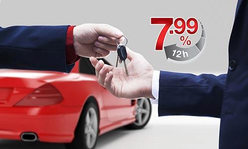 Doanh nghiệp có thể làm thủ tục vay mua ô tô trong vòng 12 giờ làm việc
