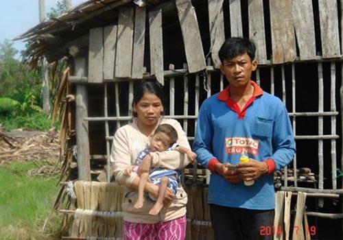 Gia đình chị Võ Thị Quắng