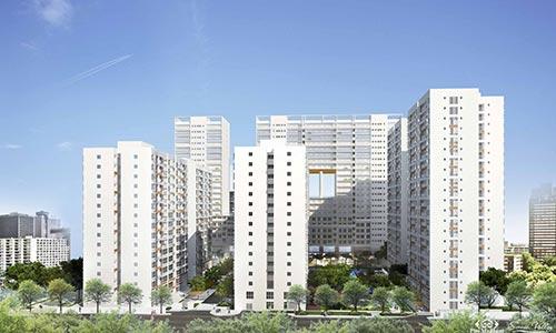 Phần lớn căn hộ Scenic Valley của Phú Mỹ Hưng có diện tích từ 70 m2 nên tổng giá vừa phải, dễ mua hơn