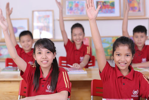 Trong niên học đầu tiên 2014-2015, Vinschool tuyển sinh từ lớp 1 đến lớp 10