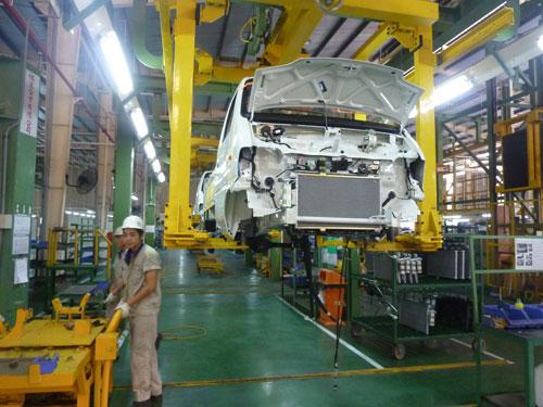 Tỉ lệ nội địa hóa của ngành ô tô trong nước vẫn còn rất thấp