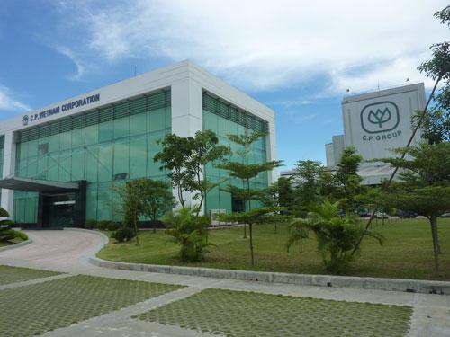 Nhà máy sản xuất thức ăn chăn nuôi C.P. Việt Nam tại Hải Dương